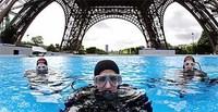 Bucear al pie de la Torre Eiffel