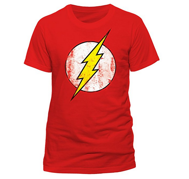 Camiseta de Flash