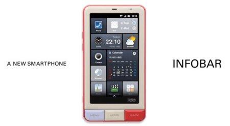 KDDI Infobar, una personalización Android con gusto a Windows Phone 7