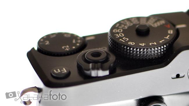 Fujifilm XPro-1 vista detalle ruleta