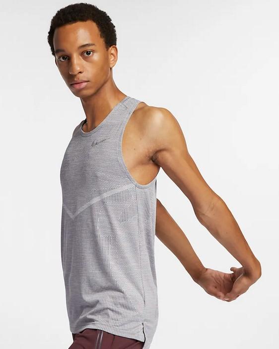 Camiseta de tirantes de running - Hombre Nike TechKnit Cool