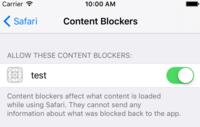 iOS 9 puede ser capaz de instalar bloqueadores de anuncios nativamente