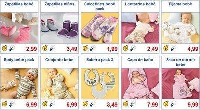 Ropita de bebé en Lidl