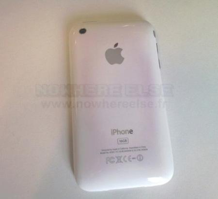 ¿Problemas de decoloración en los iPhone 3GS blancos?