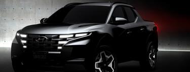 La Hyundai Santa Cruz está a dos semanas de presentarse y ya nos adelanta un diseño disruptivo parecido al de Tucson