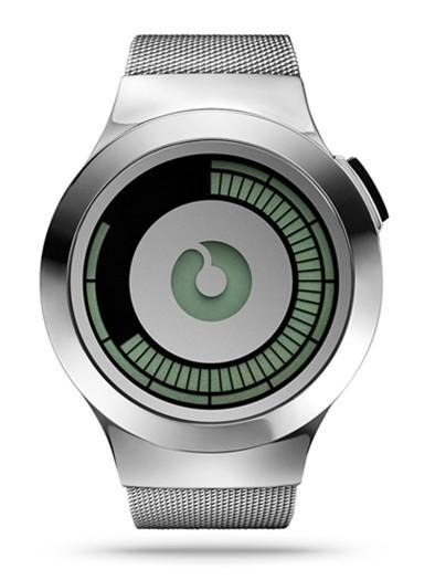 Futuristic, minimal and cool: reloj digital de Ziiiro