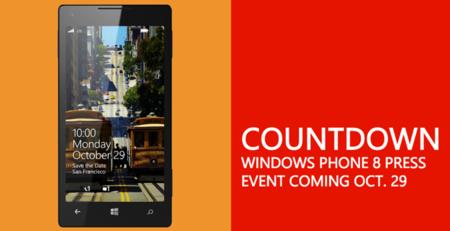 Presentación de Windows Phone 8, síguela con nosotros