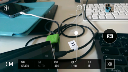 Controles manuales HTC One M8