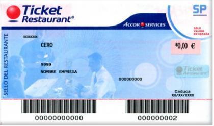 Los tickets-restaurante para autónomos y pymes
