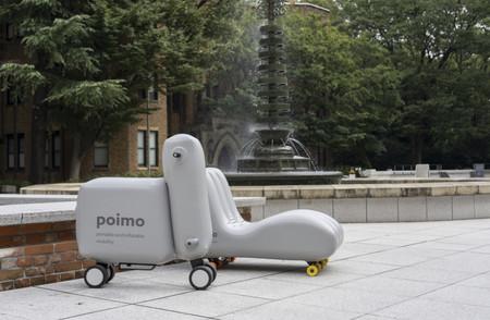 Poimo canapé et scooter gonflable