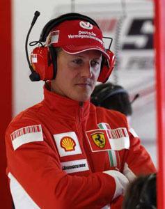 Schumacher, ¿el tercer piloto de Ferrari?