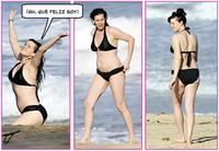Liv Tyler en bikini, otra que se deja ir