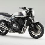 La Honda CB-F Concept es un naked de aires retro que rinde homenaje a la CB750F