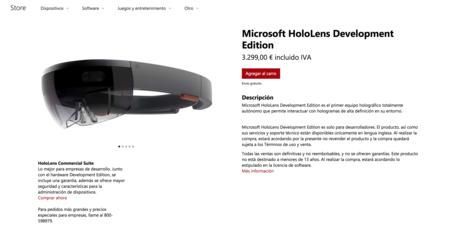 Microsoft Hololens Development Edition Tienda