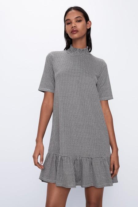 Vestido Jacquard Zara 06