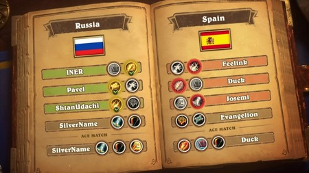 España sufre una dura derrota ante Rusia en la primera jornada de los HGG