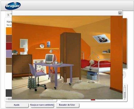 Simulador de ambientes de bruguer - Simulador pintar habitacion ...