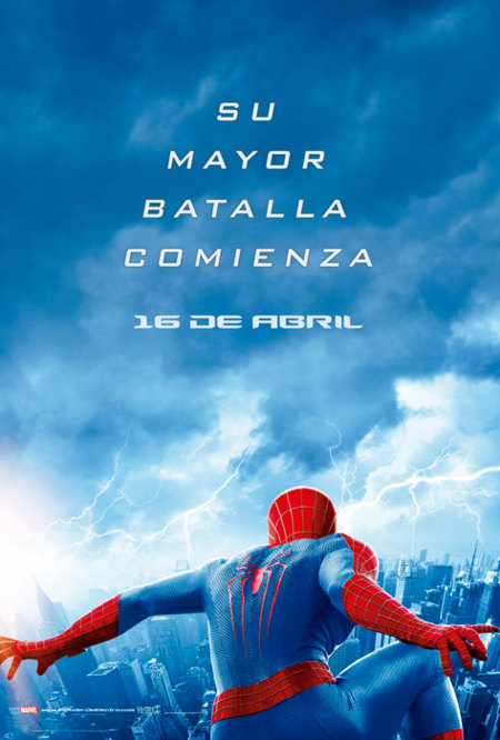 'The Amazing Spider-Man 2: El poder de Electro', carteles