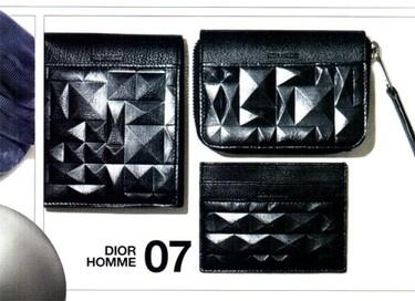 Christian Dior y sus colección de billeteras para hombre