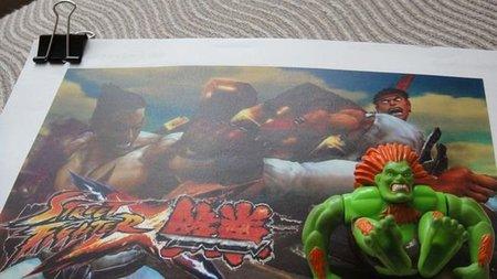 'Street Fighter x Tekken'. Yoshinori Ono nos desvela dos imágenes peculiares, siendo una de ellas in-game