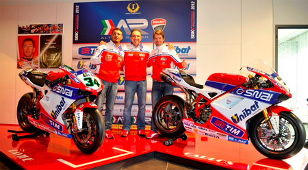 Althea Racing presenta el equipo de Superbikes para 2012