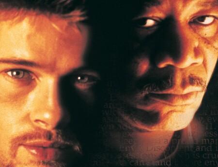 'Seven': Brad Pitt y Morgan Freeman a la caza de un retorcido psicópata en una de las mejores películas de David Fincher