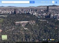 México, la ciudad de los palacios en 3D con Google Maps