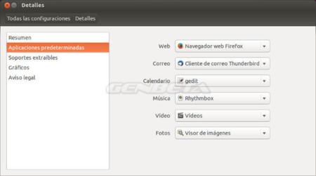 Ubuntu 13.10, aplicaciones por defecto