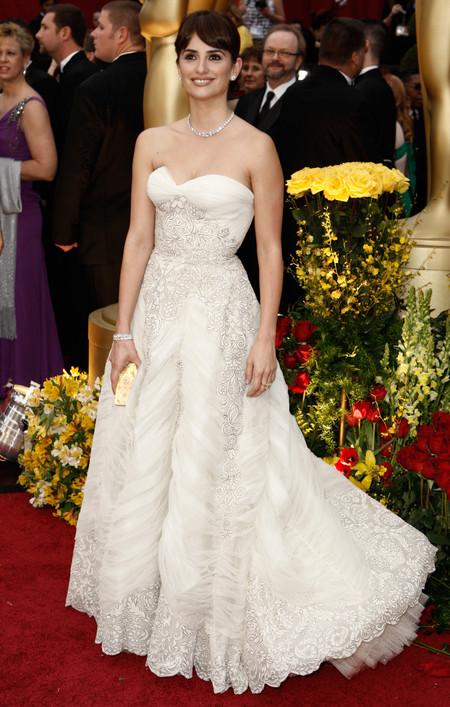 Penelope Cruz Oscar 2009 Balmain