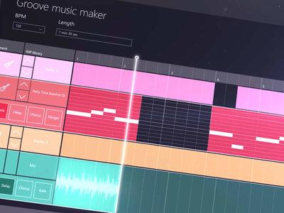 Groove Music Maker, la herramienta de Microsoft para DJs y creadores de música
