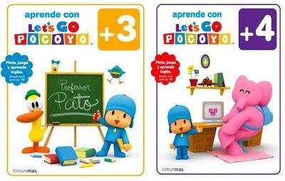 Aprende inglés con Pocoyó