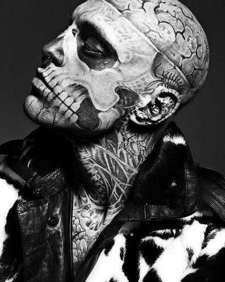 Rick Genest, el modelo 'zombie boy' se suicida a los 32 años