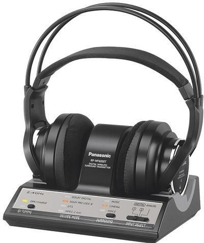 RP-WF6000, auricular 5.1. inalámbrico