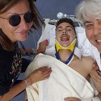 El accidente de Lorenzo Baldassarri en Moto2 se salda con un traumatismo craneoencefálico y un fuerte golpe en el pie