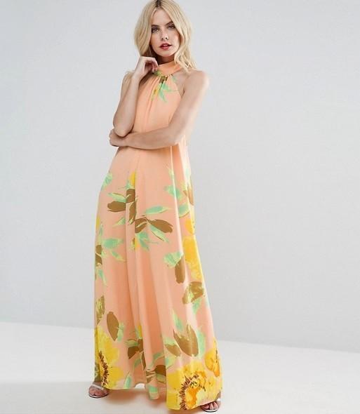 Vestido de estampado veraniego