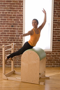 Pilates Estudio (II): Barrel