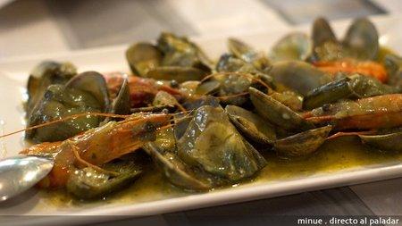 Restaurante San Patricio - almejas marinera