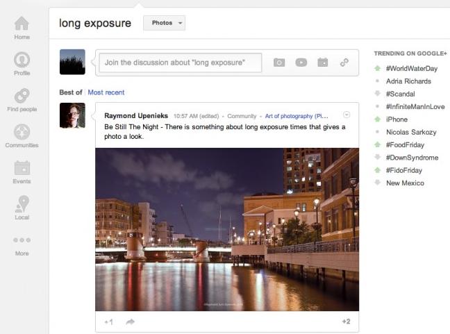 Google+ fotos