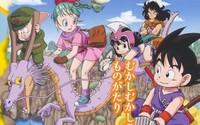 Varios scans de 'Dragon Ball DS'