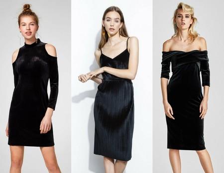 Vestidos Negros Terciopelo