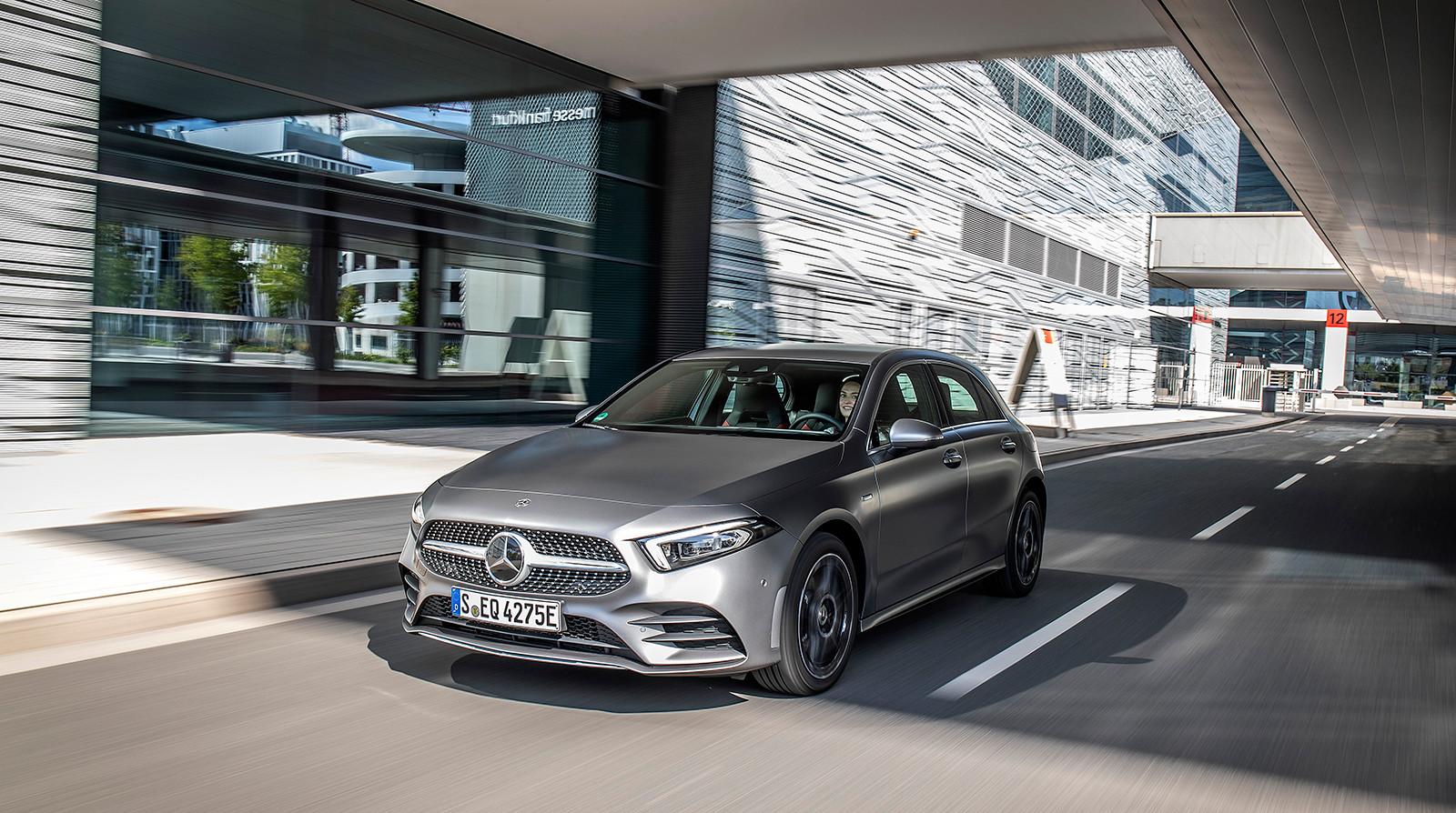 Foto de Los nuevos híbridos enchufables de Mercedes-Benz: Clase A, Clase B, GLC y GLE (17/29)