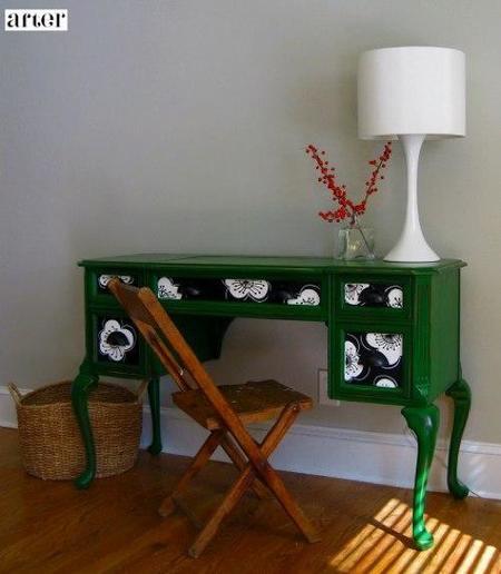 Antes y después: muebles de madera lacados