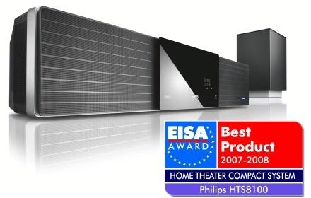Philips gana dos premios EISA gracias a sus productos de cine en casa