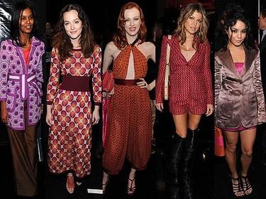 El poderoso front-row de Marc Jacobs en la semana de la moda de Nueva York