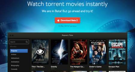 Popcorn Time: ¿para qué descargar un torrent cuando puedes reproducirlo en streaming?