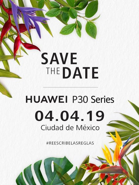Huawei P30 Series Mexico 4 Abril 2019