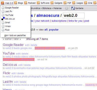 Firefox + Del.icio.us + Google Browser Sync