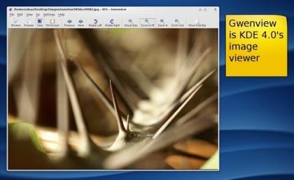 KDE 4 Gwenview