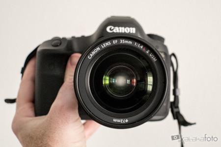 Canon EF 35 mm f/1,4L II USM: toma de contacto