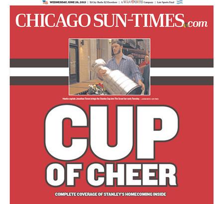 Portada Chicago Sun-Times